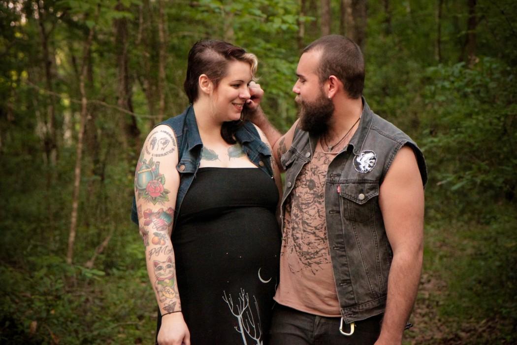 Alternative Maternity Photo Shoot